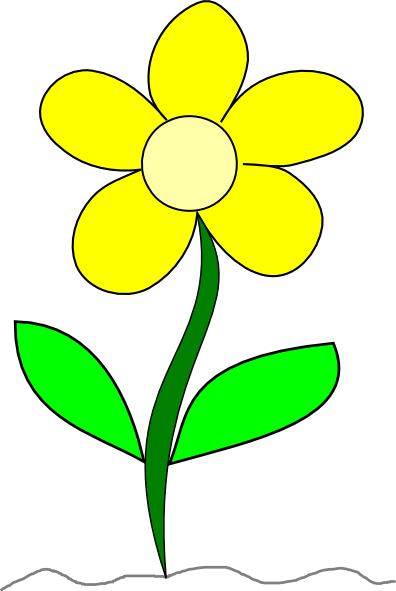 396x591 Flower Clip Art