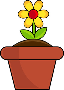 213x300 Flower Clipart Image