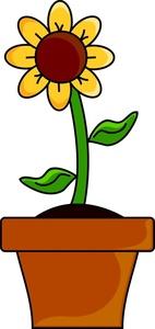 142x300 Flower Pot Clip Art Many Interesting Cliparts