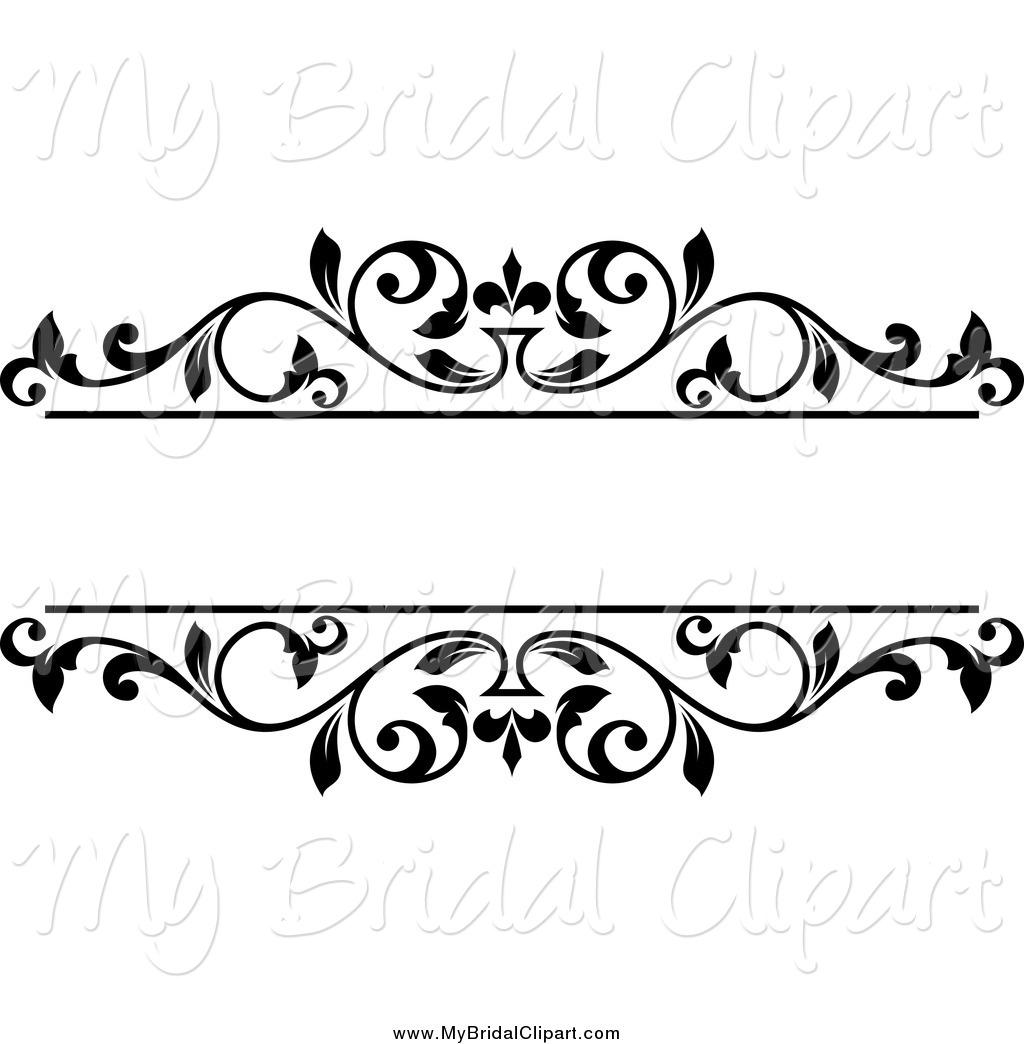 1024x1044 Black Floral Clip Art