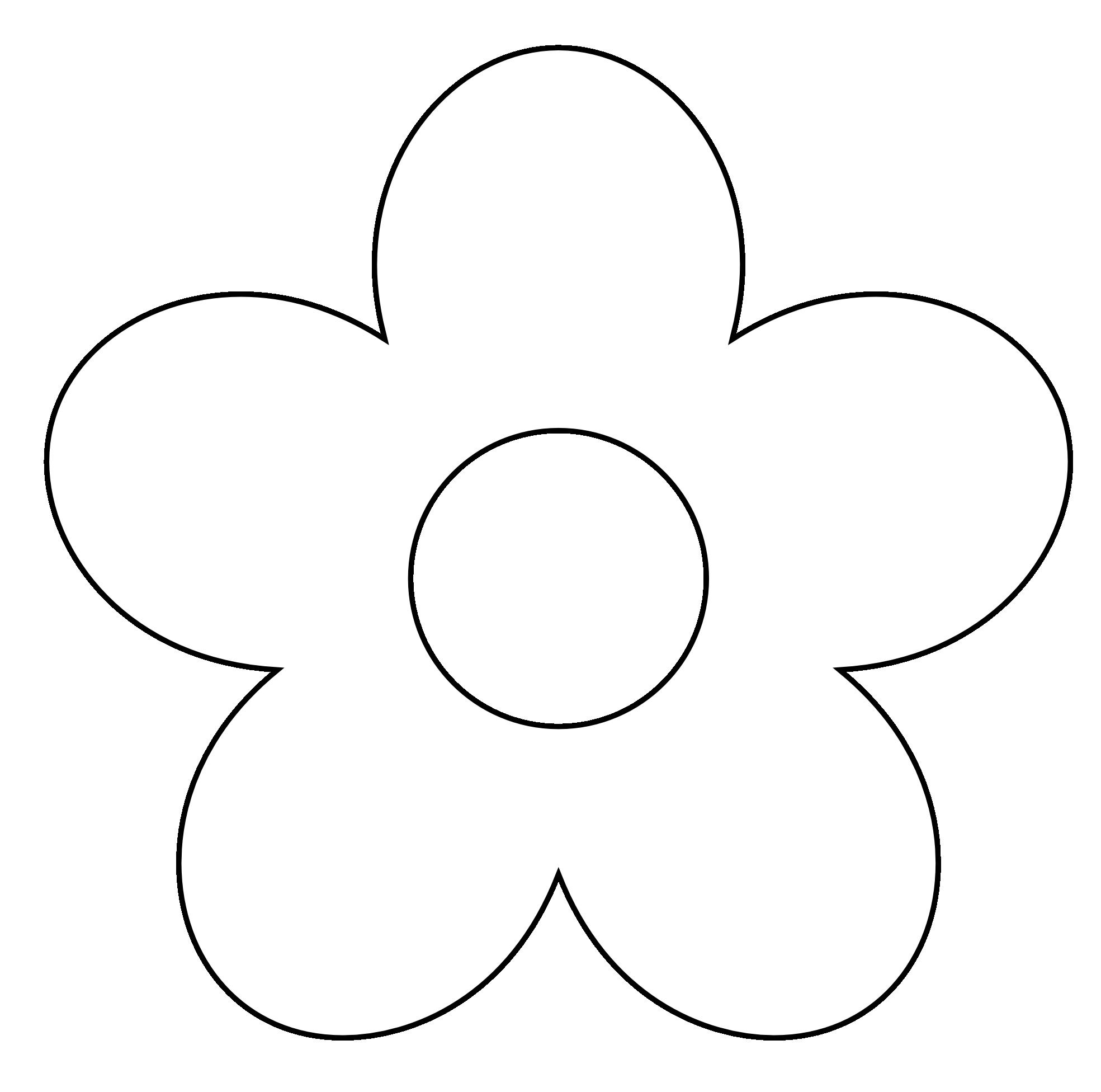 1969x1952 Flower Clip Art Black And White