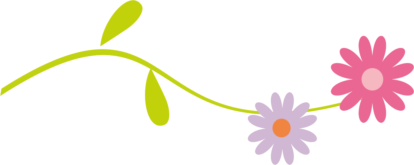 1435x574 Floral Divider Clipart