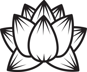 300x248 Lotus Flower Clipart Image