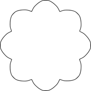 300x300 Daisy Clipart Flower Outline