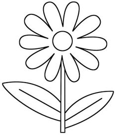 236x275 Daisies Flower Outline Clip Art Jewelry Design