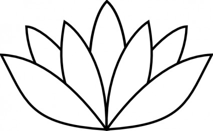425x262 Outline Images Of Flowers