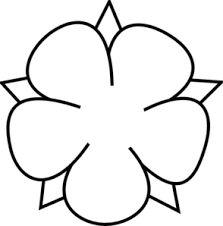 223x226 51 Best Flower Doodle Images Felt Templates