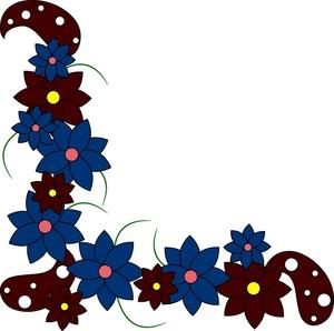 300x298 Floral Clipart Image