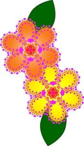 174x300 Floral Clipart Image