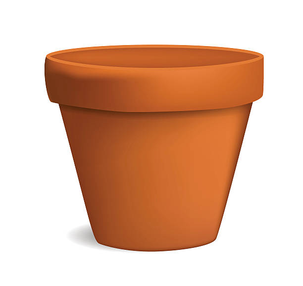 612x577 Pot Clipart Empty Flower Pot Clipart Clipartxtras New Coloring