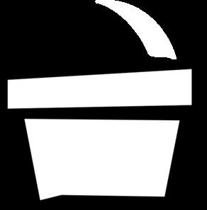 292x297 Flower Pot Outline Clip Art  sc 1 st  Clip Art Mag & Flower Pot Clipart Black And White | Free download best Flower Pot ...