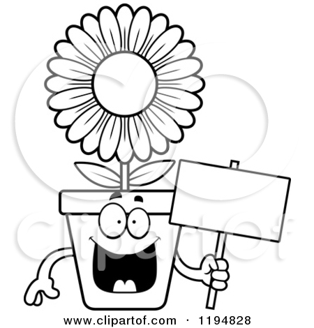 Flower pot clipart black and white free download best flower pot 450x470 flower in pot clip art cliparts mightylinksfo