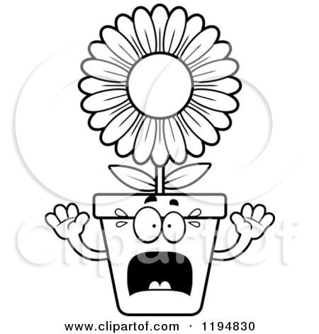 Flower pot clipart black and white free download best flower pot 450x470 pot plant clipart cartoon mightylinksfo