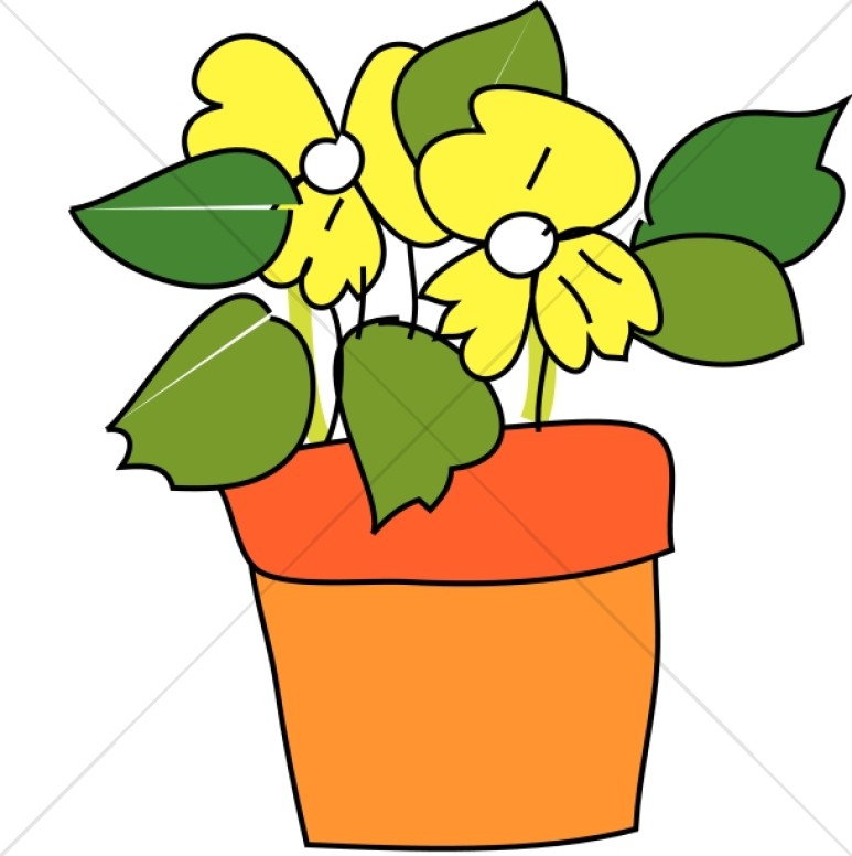 Flower Pot Clipart Images Free Download Best Flower Pot Clipart