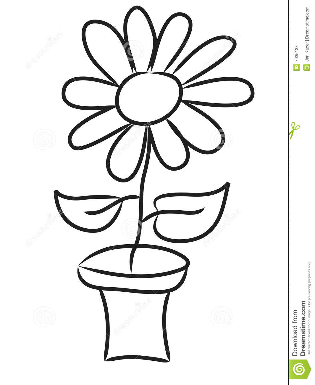 1065x1300 Flower Pot Drawing Clipart Flower Pot Sketch Img Flower Pot