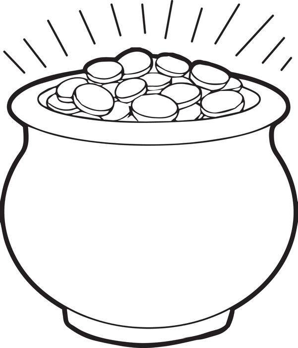 Flower Pot Outline | Free download best Flower Pot Outline on ...