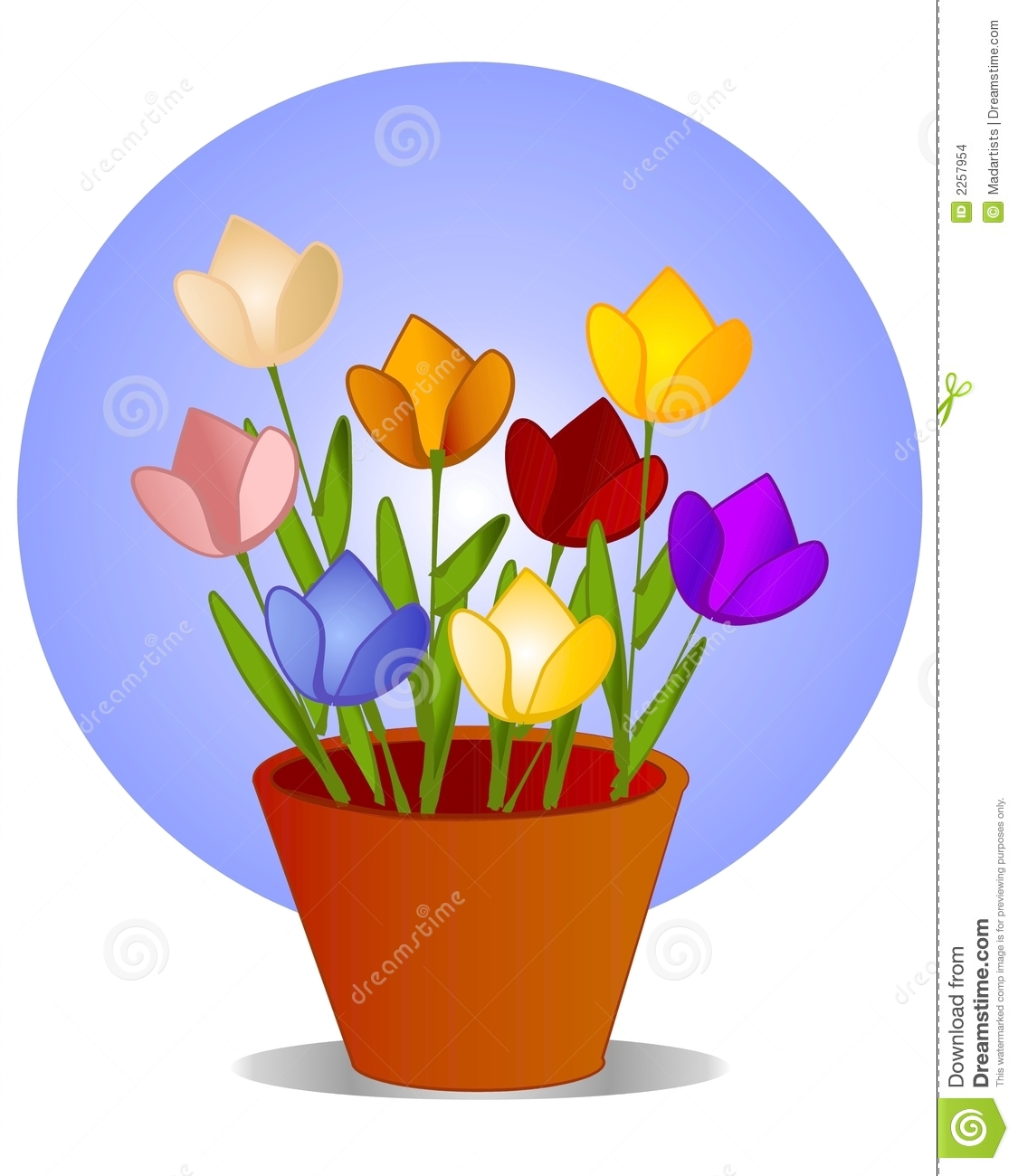 1125x1300 Picture Of Flower Pot 129 Inspiring Style For Tulip Flower Outline