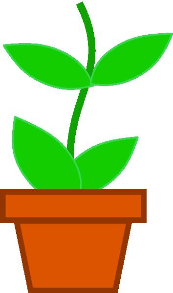 354x599 Pot Flower Md Clip Art