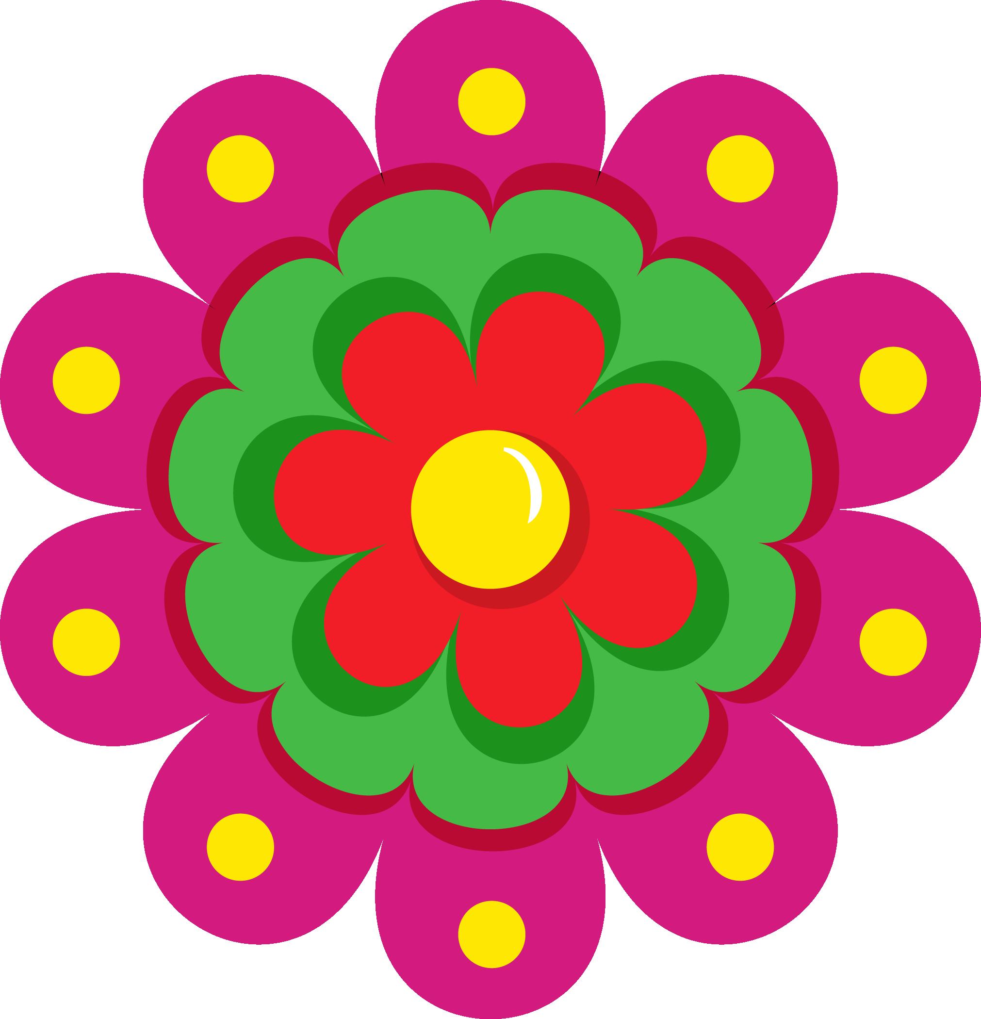 2022x2100 Fiesta Flowers Png