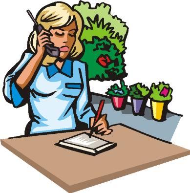 389x395 Florist Clipart