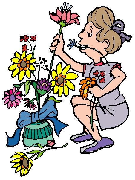 452x602 Florist Clipart