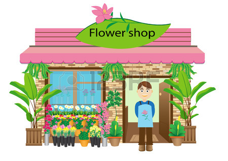 450x318 Flower Shop Royalty Free Cliparts, Vectors, And Stock Illustration