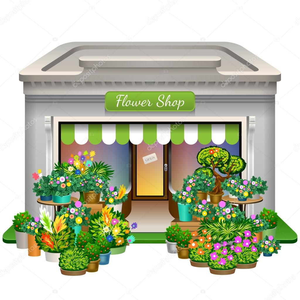 1024x1024 Flower Shop Icon Stock Vector Yesman