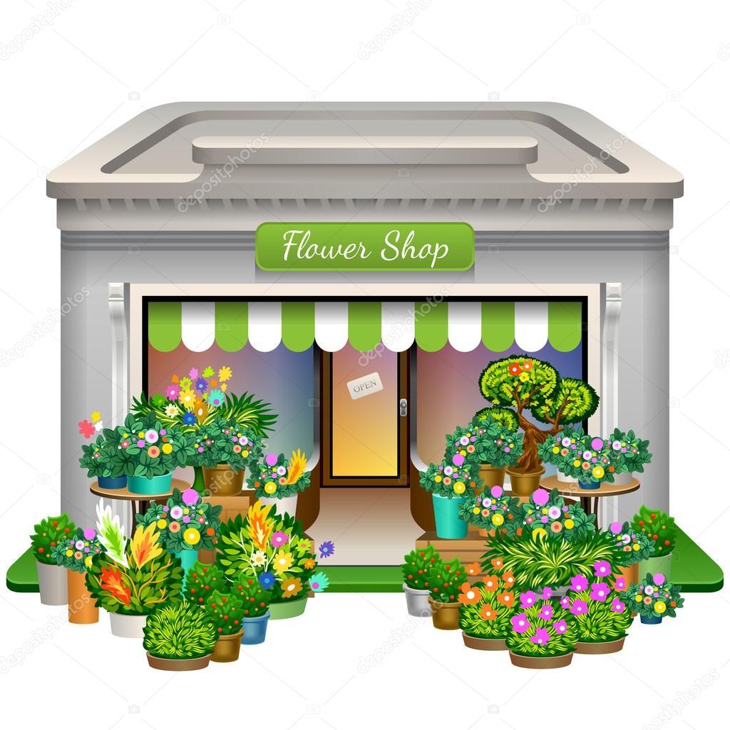 1024x1024 Flower Shop Icon Stock Vector Yesman