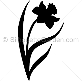 336x334 Flower Silhouettes