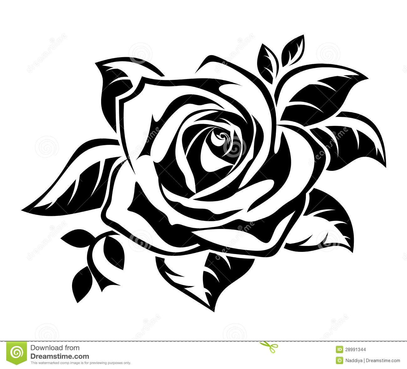 1300x1181 Roses Clipart Black And White