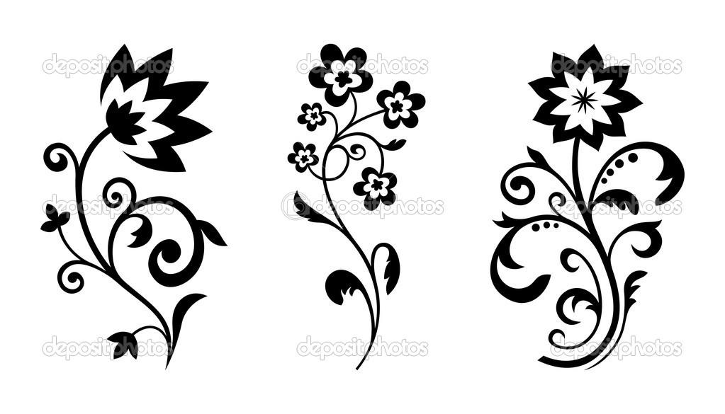 1023x585 8 Best Images Of Vintage Floral Vector Clip Art