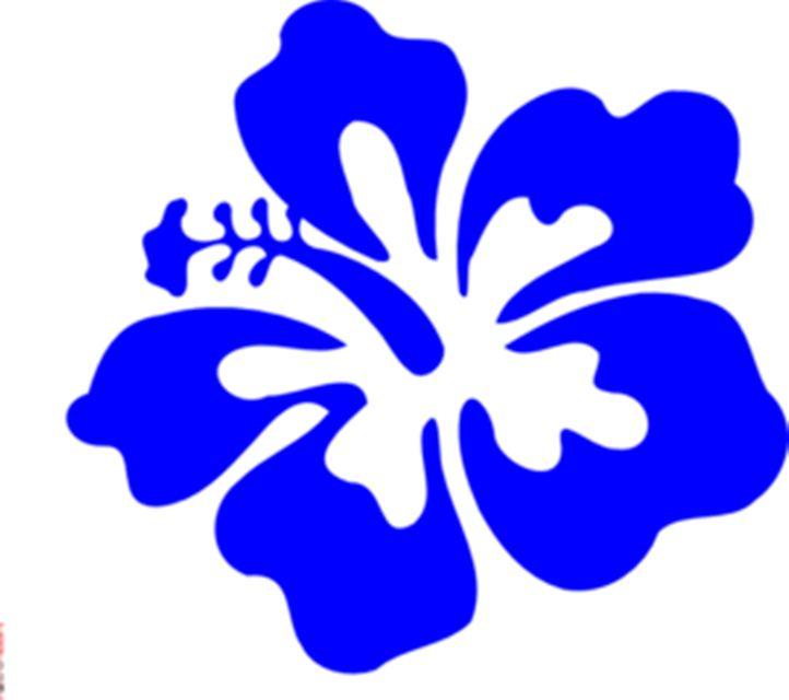 722x640 Clipart Flower Free Hawaiian