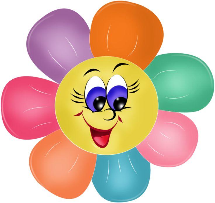 Flower Smiley Face