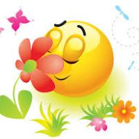 200x200 Flower Smiley Emoticon