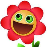 200x200 Flower Smiley Face