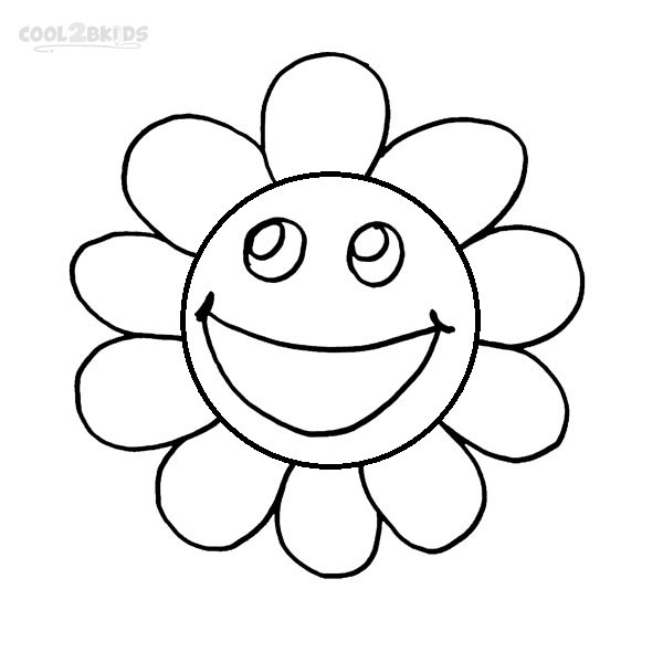600x600 Smiley Face Coloring Pages