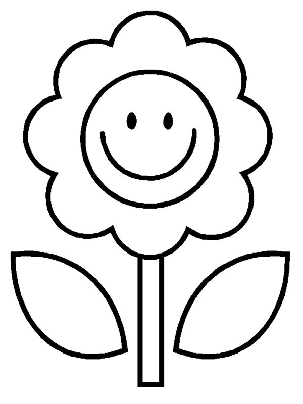 600x800 Smiley Face Flower