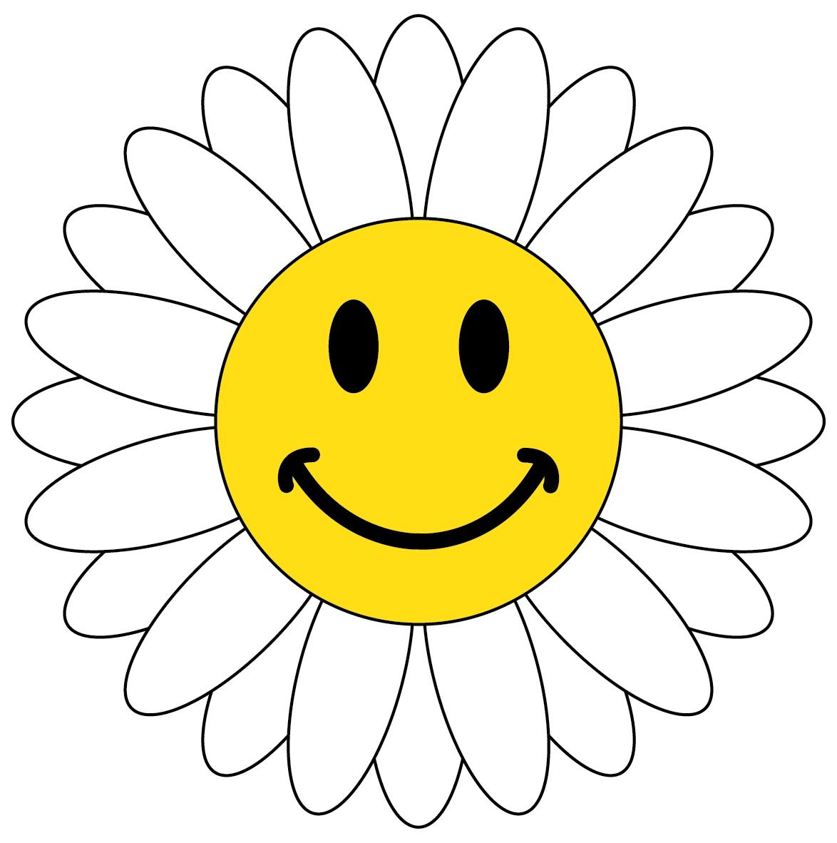 1174x1182 Best Smiley Face Flower
