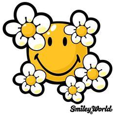 236x236 Smiley Face Flower