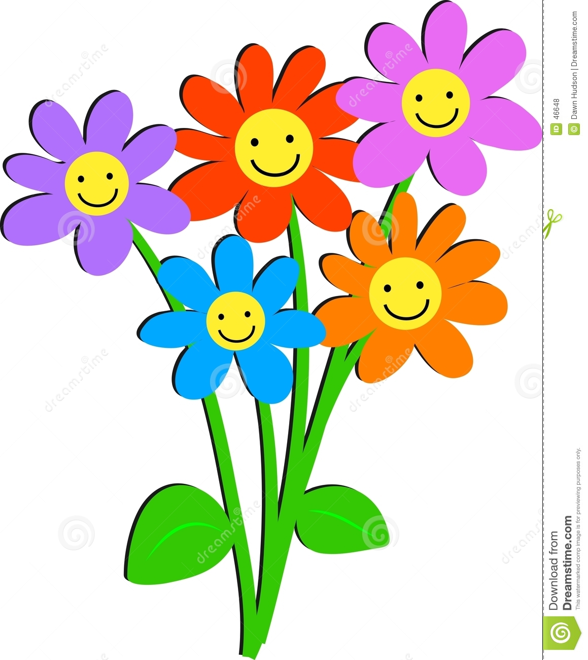 1159x1300 Smiley Face Flower Clipart Clipart Panda