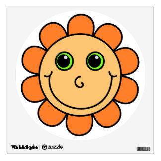 324x324 Smiley Face Wall Decals Amp Wall Stickers Zazzle