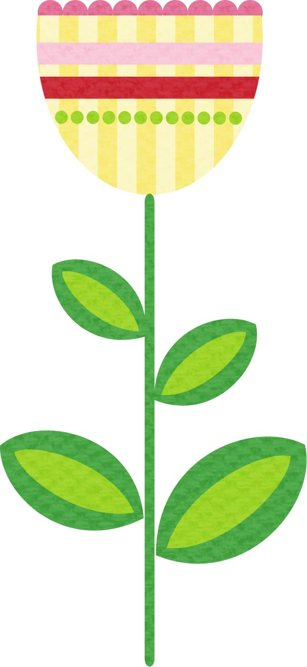 Flower Stem Clipart | Free download on ClipArtMag