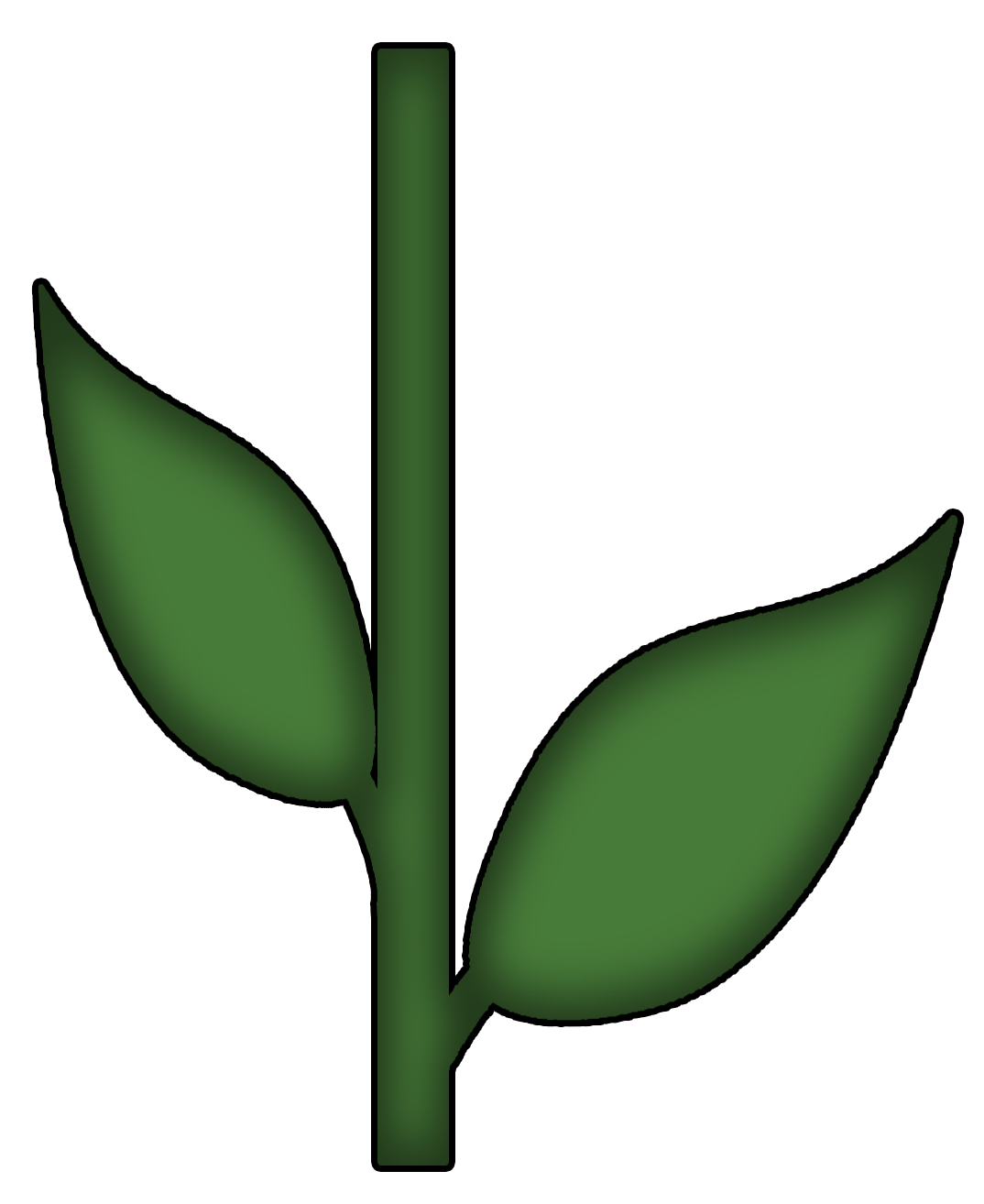 1074x1314 Stem Clipart Flower Stem