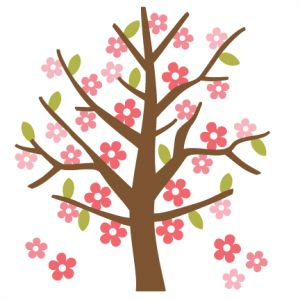 300x300 Clipart Trees And Flowers