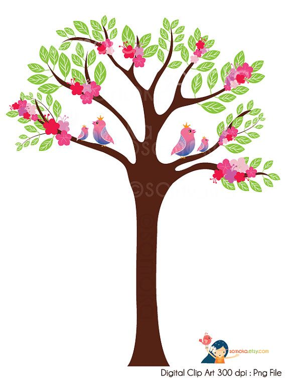 570x760 The Best Tree Clipart Ideas Clip Art, Felt Tree