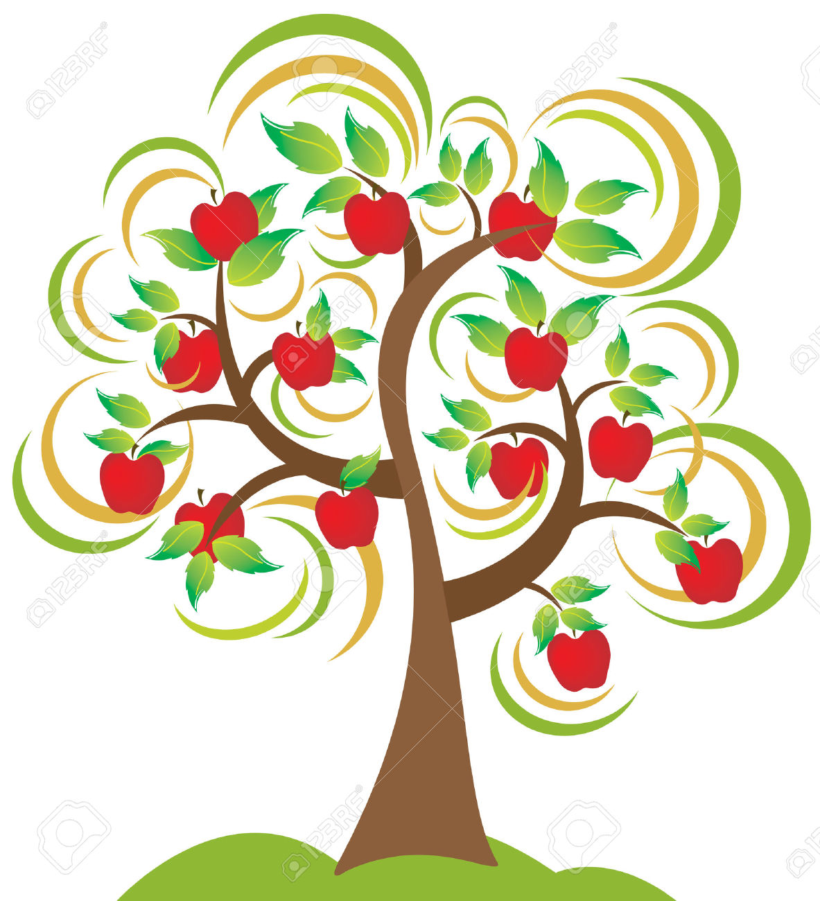 1183x1300 Top 88 Apple Tree Clip Art