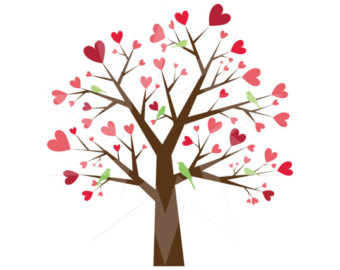 340x270 Tree Hearts Clipart, Explore Pictures