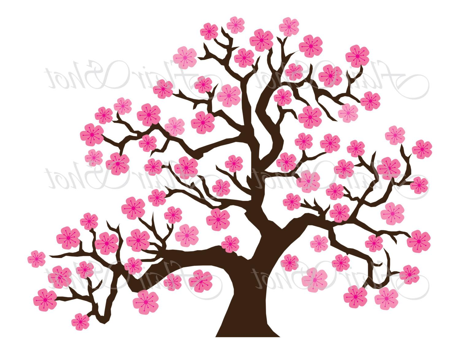 1500x1159 Unique Japanese Cherry Blossom Tree Clipart Photos Free Vector