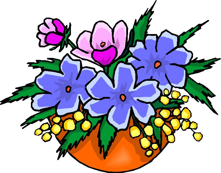 751x589 Vase Clipart Bouquet Spring Flower