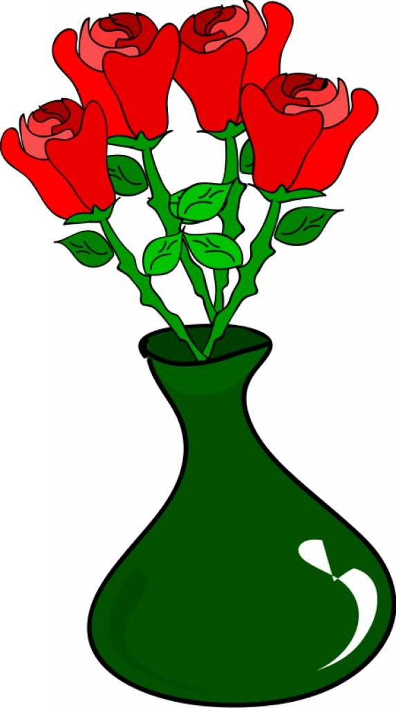 573x1024 Flower Vase Clipart Clipartsco